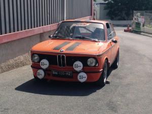 L'une des première BMW montée dans l'atelier !