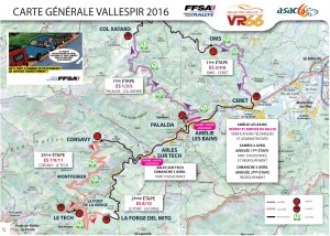 Programme rallye du Vallespir 2016