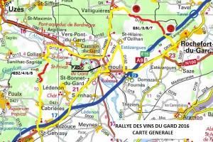Programme rallye des Vins du Gard 2016