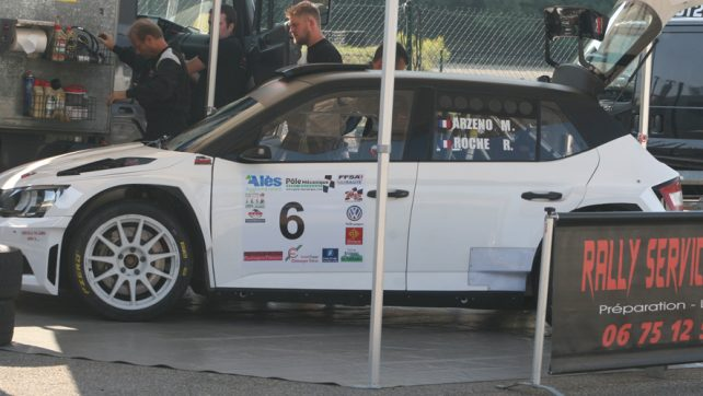 Rallye du Gard GT2I première étape