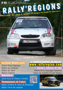 Rally'Régions N°68 Occitanie-Méditerranée