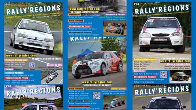 L'année Rally'Régions 2018